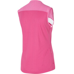 Ziener Conea Mouwloos Fietsshirt Dames, pink blossom